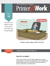 Printer@Work: Persuade Your Prospects to Say Yes!